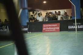 Dibutuhkan karyawan hall badminton
