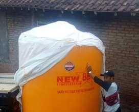 Tandon air 5000 liter HDPE Sukoharjo