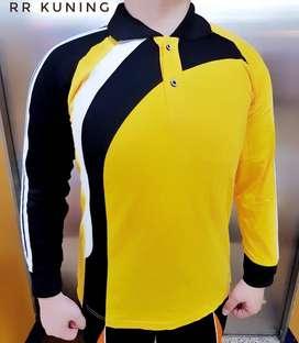 Baju Kaos Training Olahraga Lengan Panjang Lari Senam Fitness Jogging