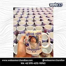 Mug Promosi - Percetakan, Depok, Printing, Cetak, Murah