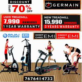 Motorised TREADMILLs 7,990 onward 1 YEAR WARRANTY 20 Models All our dr