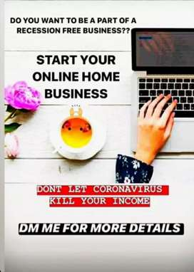 Work from home use your laptop and smart phone