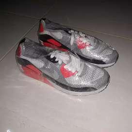 sepatu nike air max 90 flyknit infrared original size 43