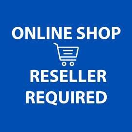 Online shop Reseller required
