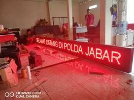 Running teks display murah di Bandung indonesia