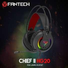 Headset Gaming FANTECH Chief II HG20 RGB Lightning Effects