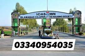 ICHS  O BLOCK 5 Marla plot  200 series Available urgent for sale