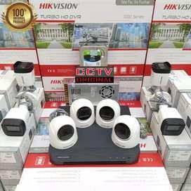 Belanja aman pasang baru Kamera CCTV COD free instalasi