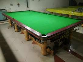 Snooker Table 6x12 pool table & 5x10 table che