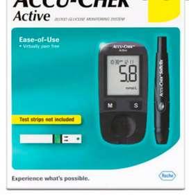 New sugar check accua check machine