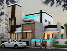 WONDERFUL NEW Villa for sale at VADAVALLI ( 68 Lakhs)--Vinayagam