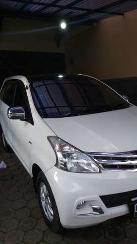 Toyota avanza G 1.3 manual putih 2015 pajak panjang,stnk juli 2025