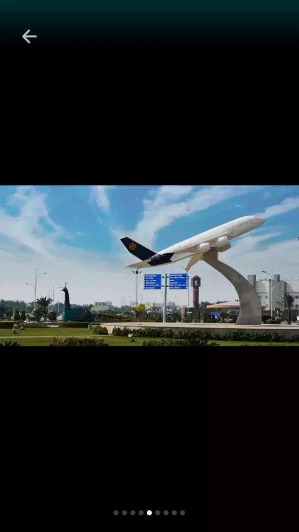 5 marla plot for sale Bahria orchard Lahore 0