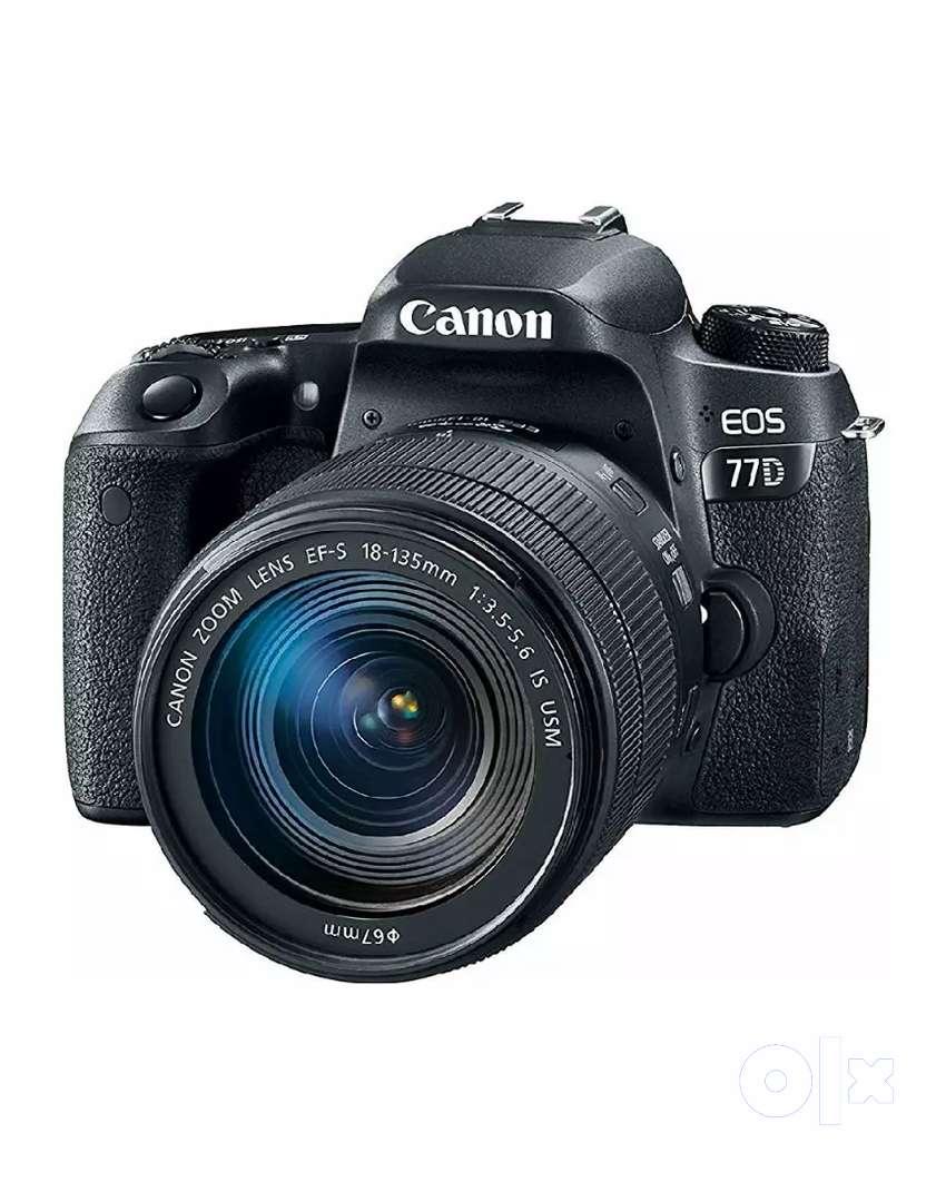 77D Canon camera 0