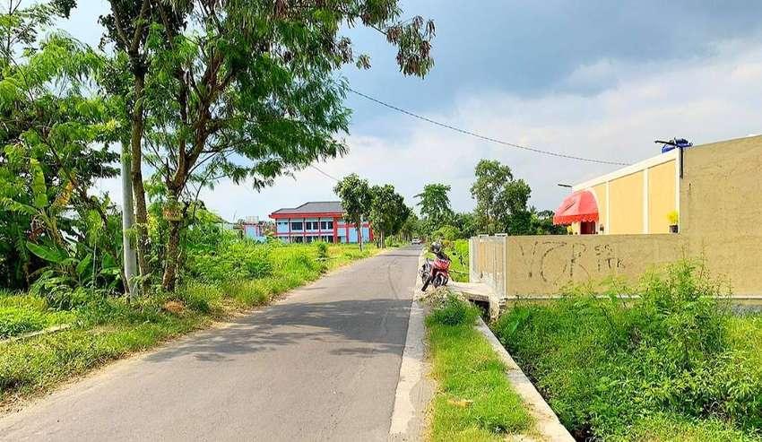 Tanah 2000 Cocok Buat Gudang dan Kantor Luas Jogja Jalan Godean