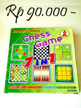 Magnetic Board game 7 in 1