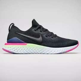 Nike epic react Flyknit 2 black