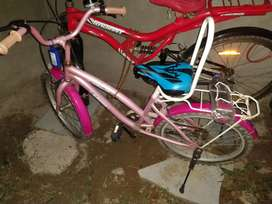 Pink Cycle for girl for 5 to 10 years