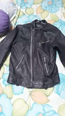 Dijual jaket kulit domba asli