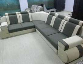 Heavy Discount Buy new sofa 8600, L Shape sofa 13999/- outlet open