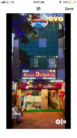 Hotel staff required in raipur cg