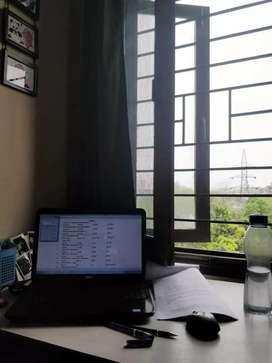 NO BROKERAGE - 2bhk near Noida City Centre in a Lush Green Society