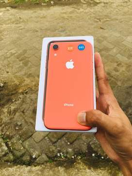 Iphone Xr orange 64gb mulus 99%
