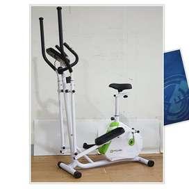 Sepeda Statis Elliptical Bike //(Jual Treadmill & Home Gym)
