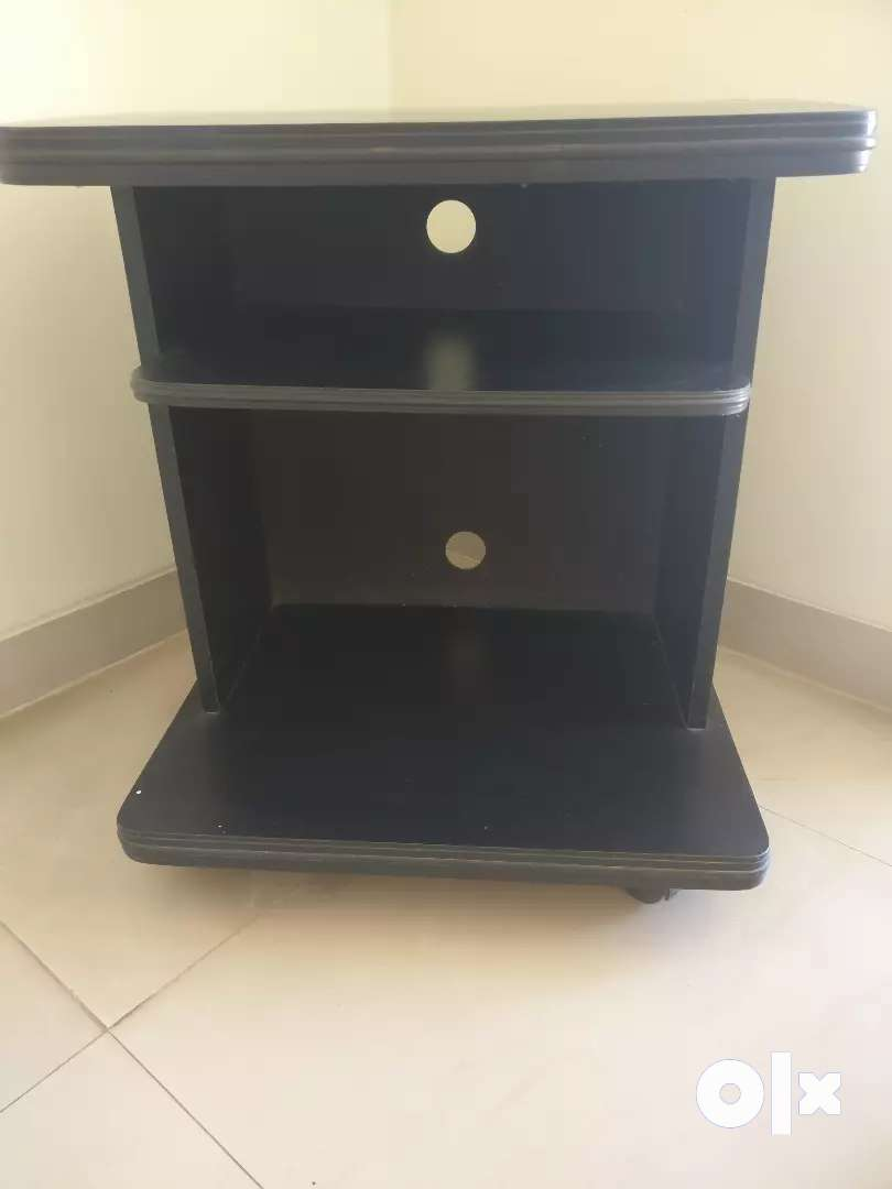 TV stand with multiple selves 0
