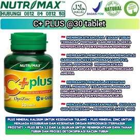 Nutrimax Cplus with zinc isi 30tab - vit c 500mg untuk jaga imunitas