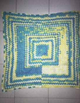Woollen Crochet Baby Blanket