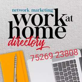 Just AD Posting and Telecalling online works...