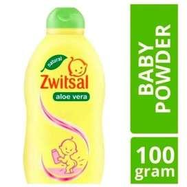 SWITSAL BABY POWDER ALOE VERA 100gr