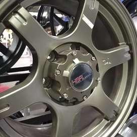 Velg Mobil Racing Ring 17 HSR Tokyo Tendo Khusus Pajero cicilan 0%