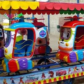 Mainan anak kereta pesawat