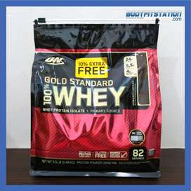Optimum Gold Standard 100% Whey 5.5 Lbs / 5lb iso isolate lb on wgs