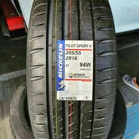 205/55-16 Michelin pilot sport 4