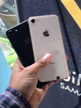 Iphone 8 64gb gold & grey