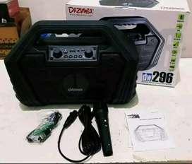 gratisantar spiker Speaker Portabel Bluetooth Dazumba DW296 Wireless