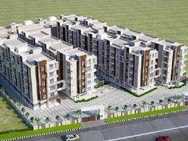 Gated Flats at Offer Price Sft Rs.1700 only at Taramathipet - ORR Exit