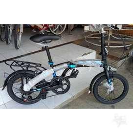 Sepeda Lipat 16 inch Merk Atlantis