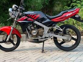 CASH CREDIT jual motor sport 2tak kawasaki ninja 150 ss r rr 2015 rare