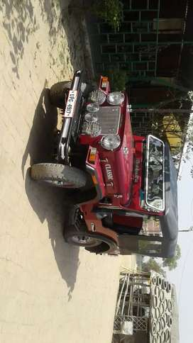 Mahindra Jeep 1970 Diesel Well Maintained 2020 year modified