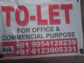 To let for office and commercial purposes