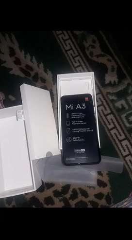 Mi A3 new mobile for sale(6gb+128gb) grey colour