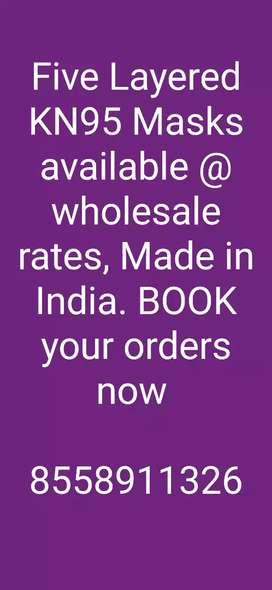 N95 Masks at Wholesale Rates