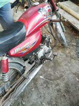 Dhoom 70cc 2014 model red color