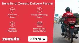 Food delivery Boys Required