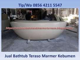 Jual Bak Mandi Teraso Marmer Kebumen, Bathtub Terrazzo