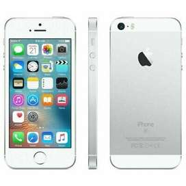 I phone se 64 gb with box charger